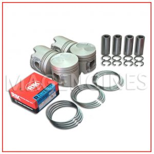 PISTON & RING SET MAZDA WL-T 2.5 LTR