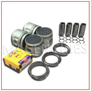 PISTON & RING SET MITSUBISHI 4D56-T 2.5 LTR