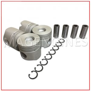 PISTON & RING SET TOYOTA 14B-TURBO