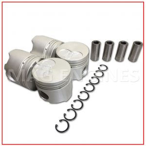 PISTON & RING SET TOYOTA 2C-T 2.0 LTR