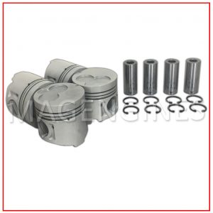 PISTON & RING SET ISUZU 4JG2 & 4JG2-T 3.1 LTR