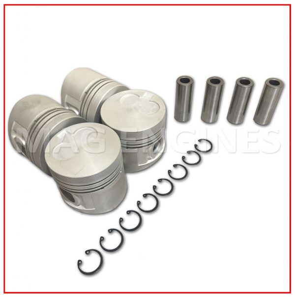 PISTON & RING SET NISSAN CD17 1.7 LTR
