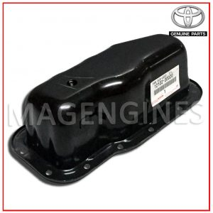 12102-30020 TOYOTA GENUINE OIL SUMP METAL