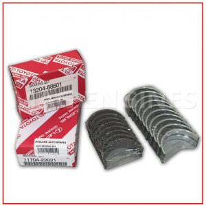 MAIN & BIG END BEARINGS 0.25 TOYOTA 2ZZ-GE 1.8 LTR
