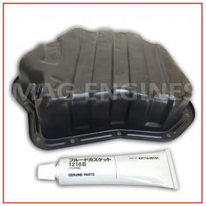 OIL SUMP TRAY WITH GASKET FLUID NISSAN YD22 DCi