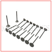 ENGINE VALVE SET NISSAN MR18 MR20 DE 1.8 & 2.0 LTR