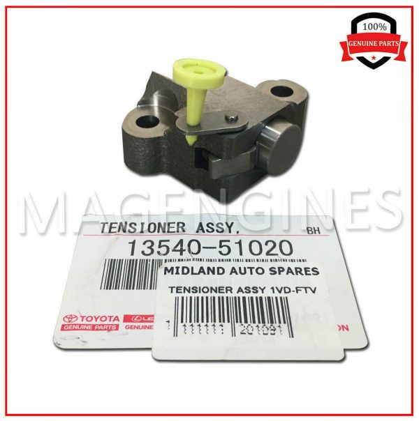 13540-51020-TOYOTA-GENUINE-CHAIN-TENSIONER-ASSY-NO.1