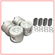 PISTON & RING SET 0.50 SIZE NISSAN YD25 DTi 2.5 LTR