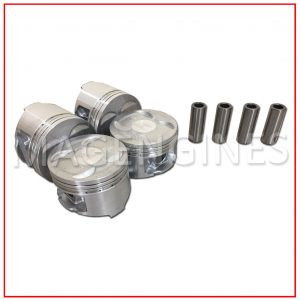PISTON & RING SET HONDA B20Z2 16V 2.0 LTR