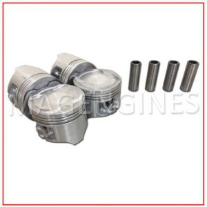 PISTON & RING SET HONDA D16A6 16V 1.6 LTR