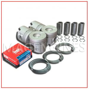 PISTON & RING SET ISUZU 4JB1-T 2.8 LTR
