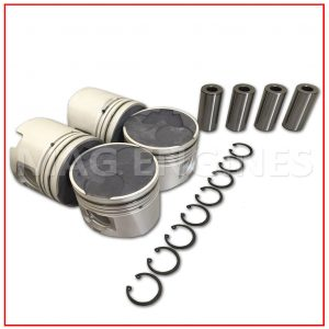 PISTON & RING SET TOYOTA 1KZ-TE 16V 3.0 LTR