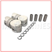 PISTON & RING SET TOYOTA 1N 8V 1.5 LTR
