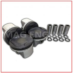 PISTON & RING SET TOYOTA 1ZR-FE 16V 1.6 LTR