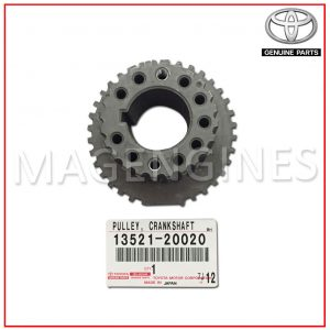 CRANK-PULLEY-TOYOTA-13521-20020