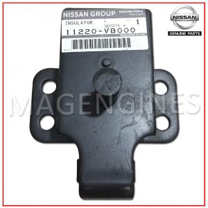 FRONT ENGINE MOUNTING INSULATOR NISSAN GENUINE 11220-VB000