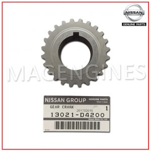 13021-D4200 NISSAN GENUINE CRANKSHAFT SPROCKET