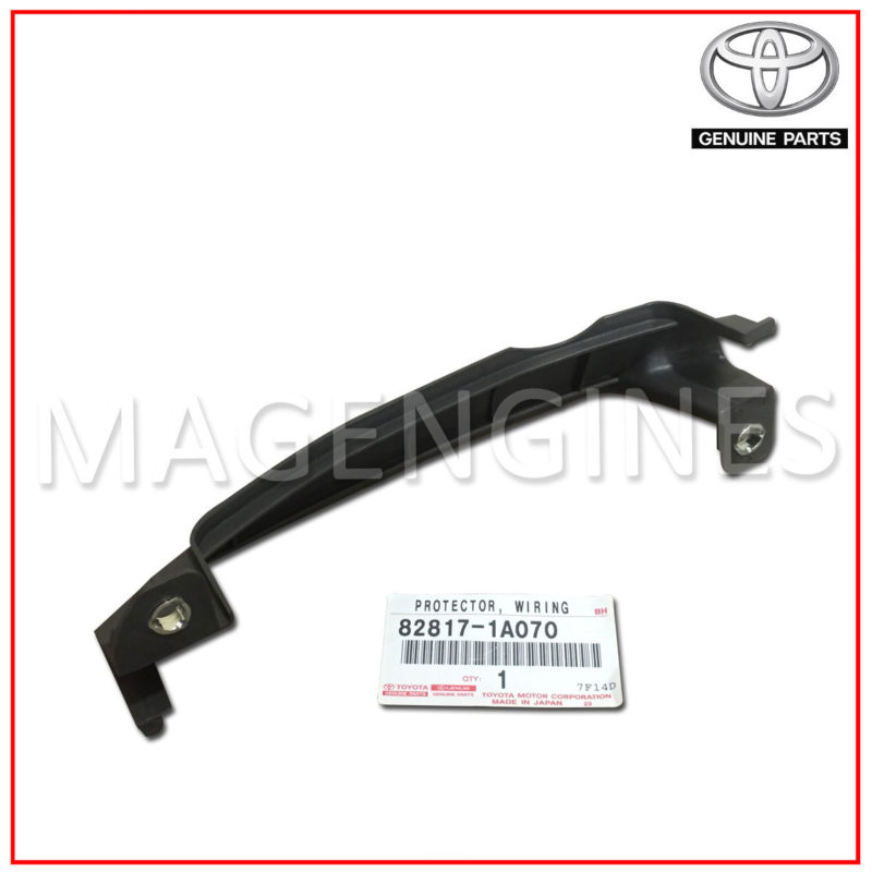 Pleasant Wiring Harness Protector Toyota Genuine 82817 1A070 Mag Engines Wiring 101 Taclepimsautoservicenl