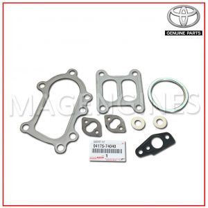 GASKET KIT, TURBOCHARGER TOYOTA GENUINE 04175-74040