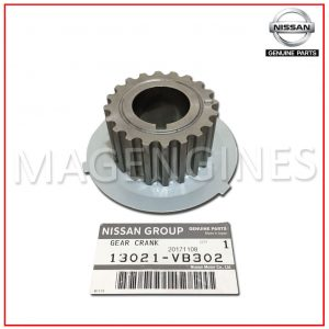SPROCKET-CRANKSHAFT-GEAR-NISSAN-GENUINE-13021-VB302.3