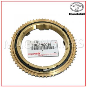 SYNCHRONIZER RING SET NO.2 TOYOTA GENUINE 33038-60010