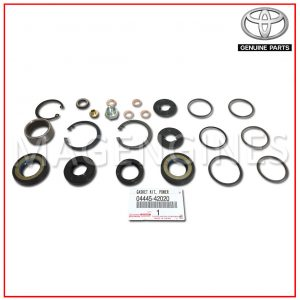 04445-42020 TOYOTA GENUINE POWER STEERING GEAR GASKET KIT (FOR RACK & PINION)