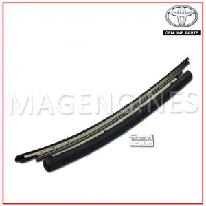 REMOVABLE ROOF MOULDING, LH TOYOTA GENUINE 63218-14020-C0