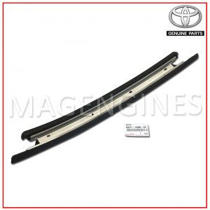 REMOVABLE ROOF MOULDING, RH TOYOTA GENUINE 63217-14030-C0