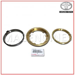 SYNCHRONIZER RING SET, NO.2 TOYOTA GENUINE 33038-60011
