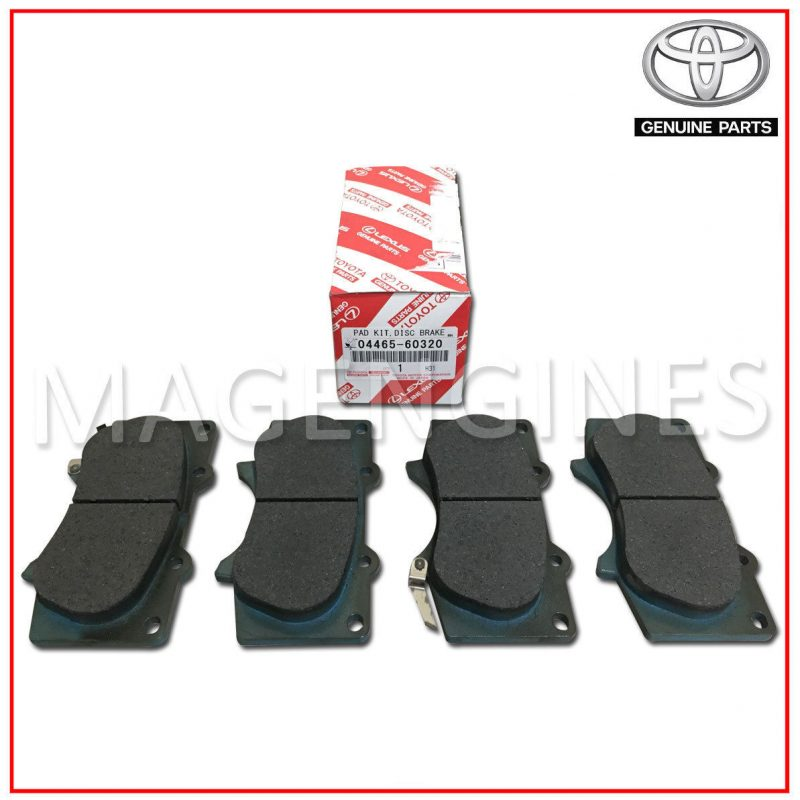 Toyota Genuine Parts 04465-60320 Front Brake Pad Set
