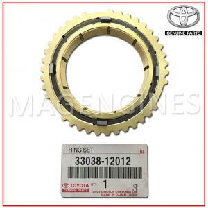 33038-12012 TOYOTA GENUINE SYNCHRONIZER RING SET, NO.2
