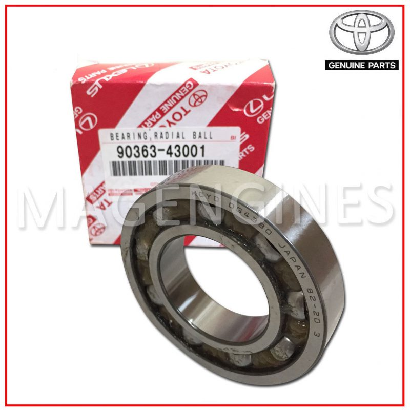90363-43001 TOYOTA GENUINE BEARING (FOR FRONT DIFFERENTIAL SIDE GEAR SHAFT  RH)