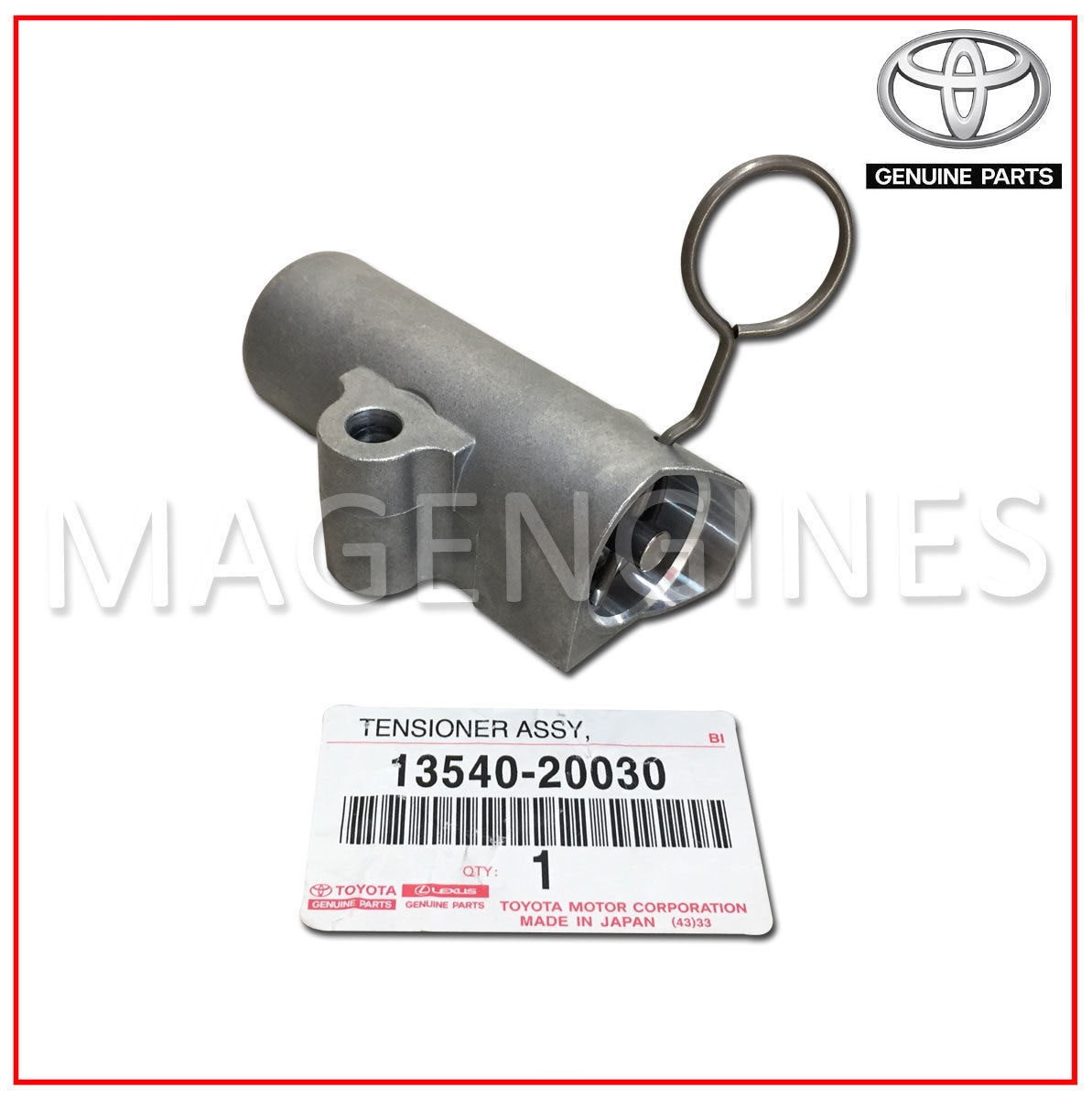 13540 20030 Toyota Genuine Timing Belt Chain Tensioner Mag Engines