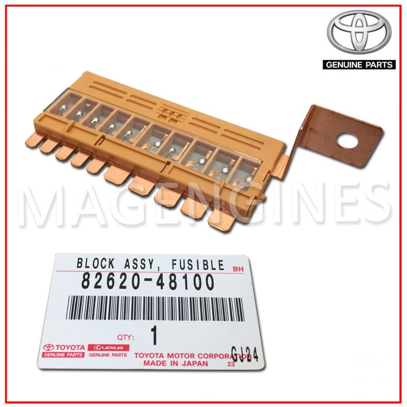 Toyota 82620-48100 Fusible Link Block Assembly
