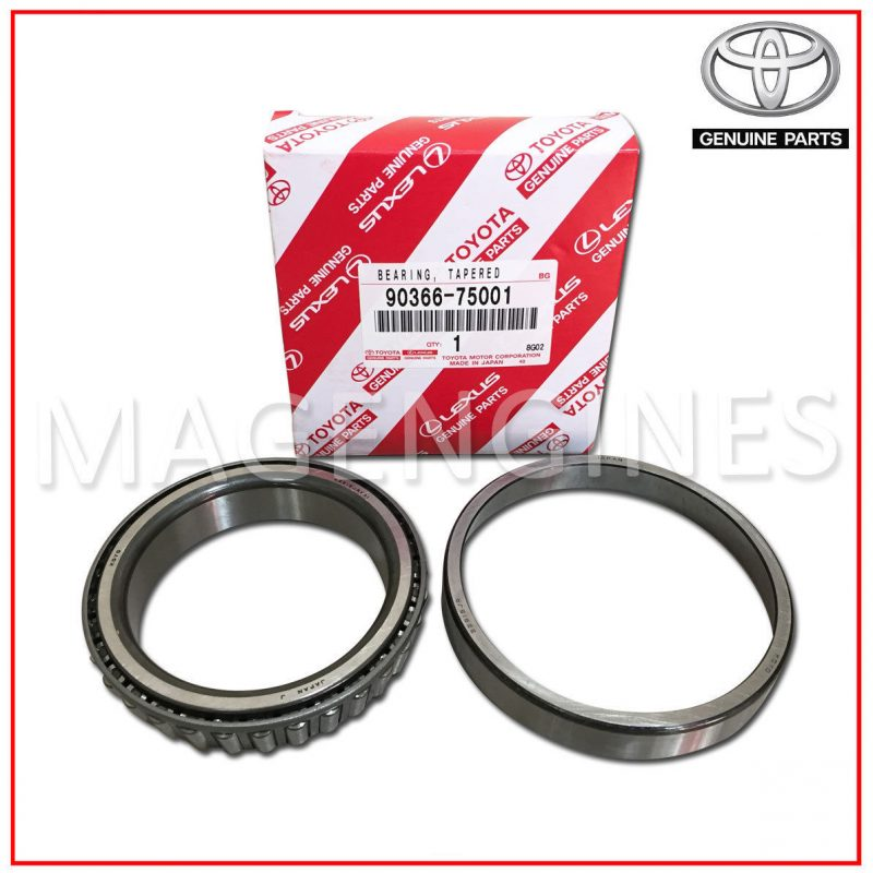 90366-75001 TOYOTA GENUINE BEARING (FOR FRONT DIFFERENTIAL CASE)