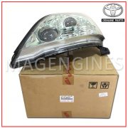 81170-6A070 TOYOTA GENUINE HEADLIGHT LENS, LH