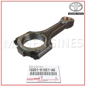 13201-51021-A0 TOYOTA GENUINE CONNECTING ROD SUB-ASSY