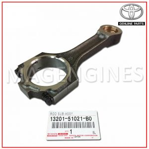 13201-51021-B0 TOYOTA GENUINE CONNECTING ROD SUB-ASSY