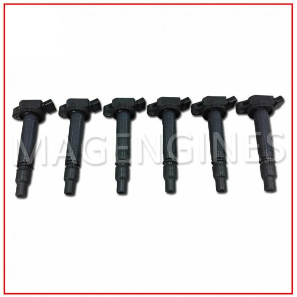 IGNITION COIL SET TOYOTA 90919-02256 1GR-FE V6