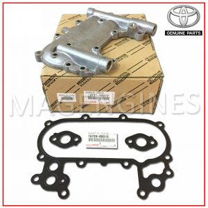15721-66010 TOYOTA GENUINE OIL COOLER COVER WITH GASKETS 1FZ-FE