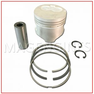 PISTON WITH PIN & RING 3L 1.00 SIZE 2.8 LTR