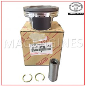TOYOTA GENUINE PISTON WITH PIN SUB-ASSY 2GRFSE 3.5 LTR