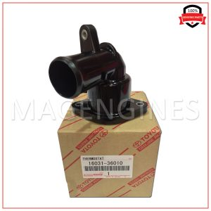 16031-36010 TOYOTA GENUINE WATER INLET SUB-ASSY, W/THERMOSTAT