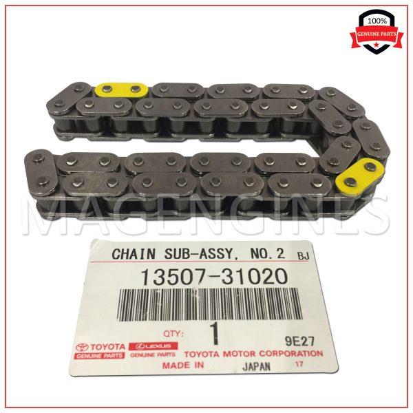 13507-31020 TOYOTA GENUINE CHAIN SUB-ASSY, NO.2