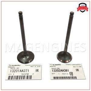 13202-AA381 & 13201-AA371 ENGINE VALVE SET SUBARU EJ20