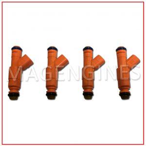 0280156156 FUEL INJECTOR SET MAZDA L3-VE 3M4G-BA 16V 2.3 LTR