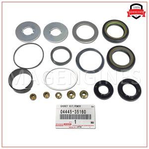 04445-35160 TOYOTA GENUINE GASKET KIT, POWER STEERING GEAR(FOR RACK & PINION) 0444535160