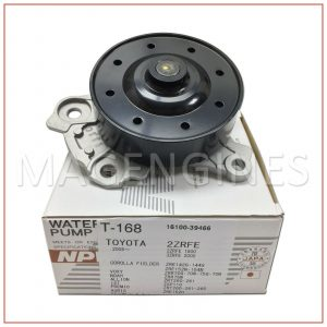 16100-39466 WATER PUMP TOYOTA 1ZR 2ZR 3ZR-FE 16V 1.6, 1.8 & 2.0 LTR