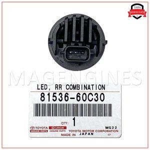 81536-60C30 TOYOTA GENUINE LED RR COMBINATION 8153660C30