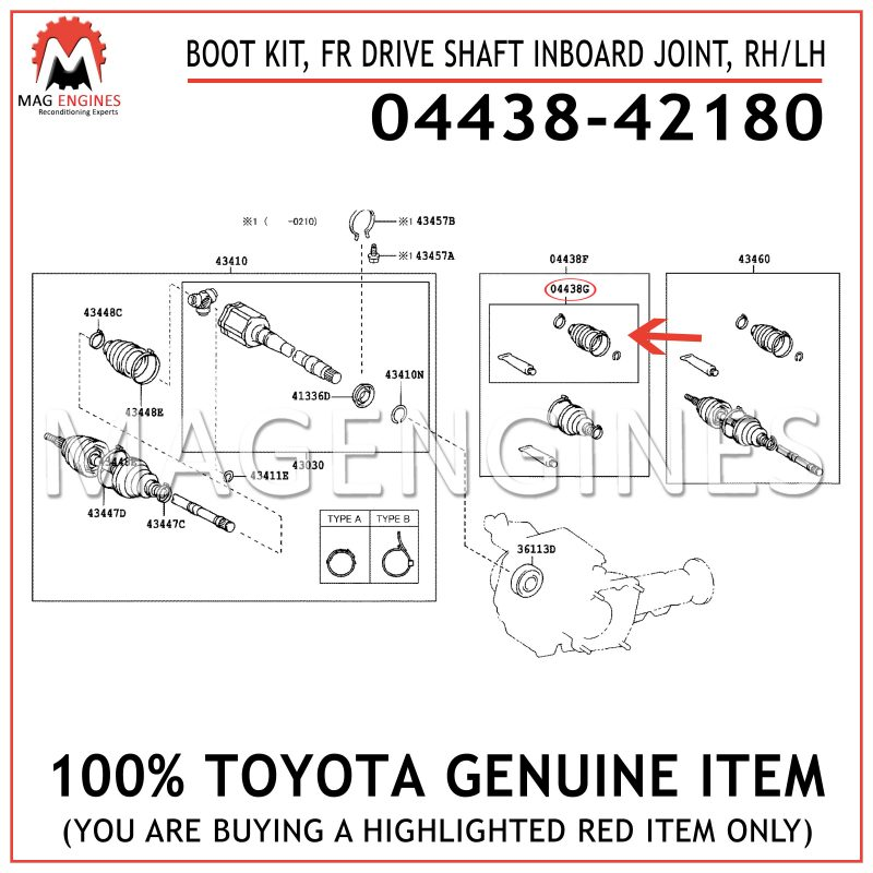 New Genuine ODM Front Right Drive Shaft 18-292200
